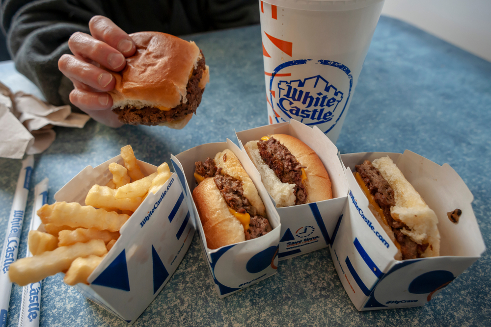 White Castle Impossible Sliders