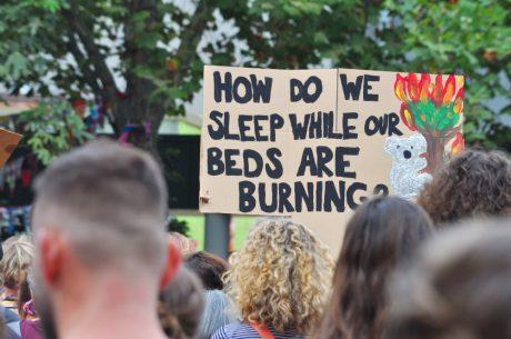 Australia Fire Protest