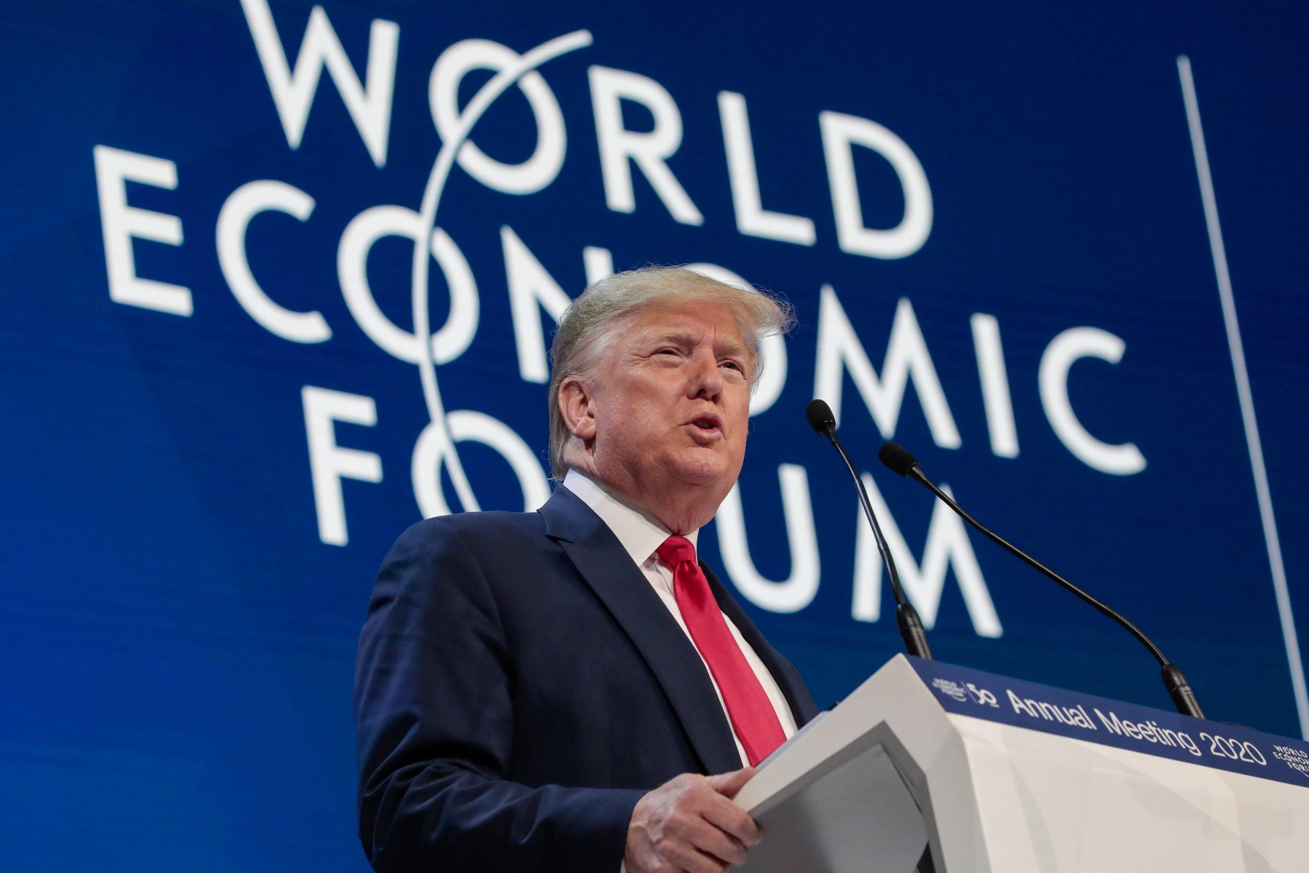 Trump at Davos