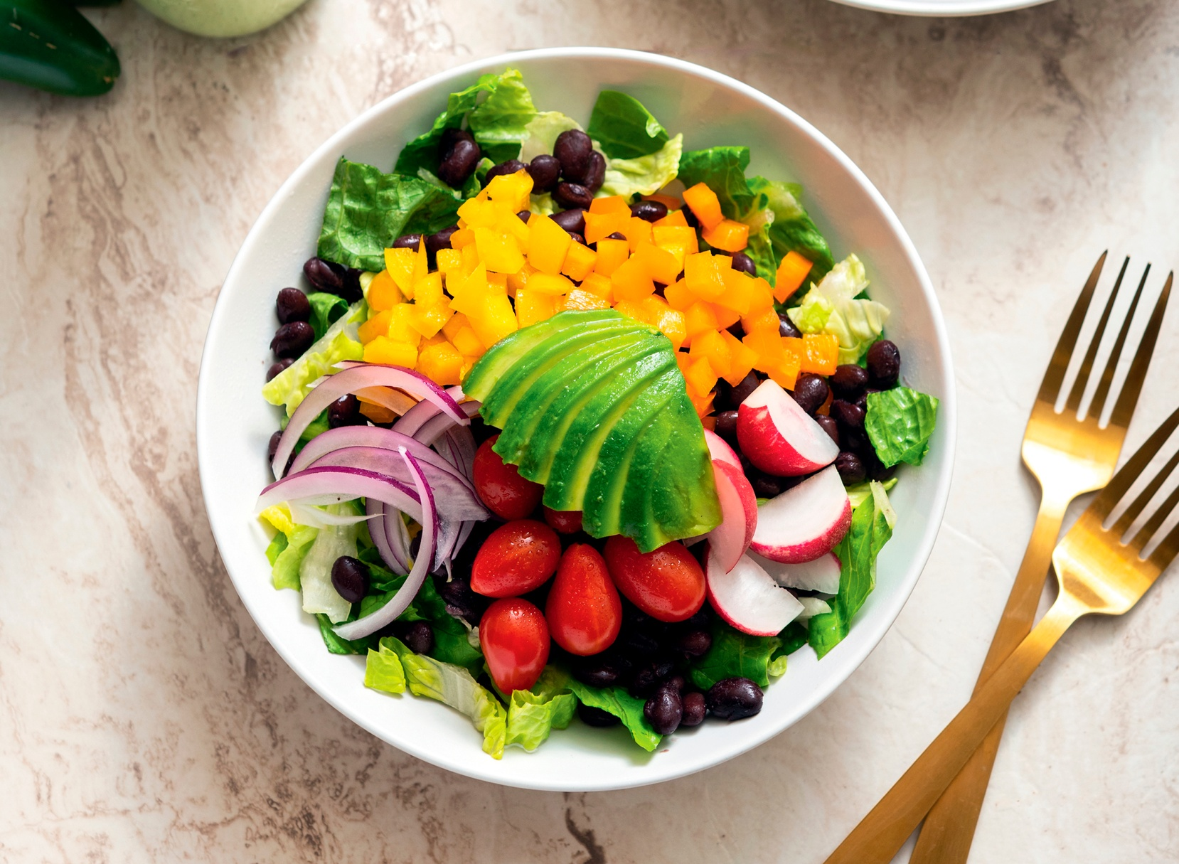 Vegan Southwest Salad