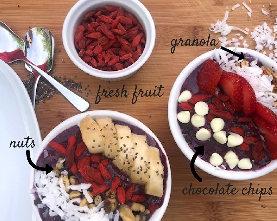 acai bowl, fruits, delicious, fruits, healthy snack, snack, quick and easy