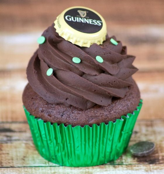 Vegan Beer Chocolate Cupcakes