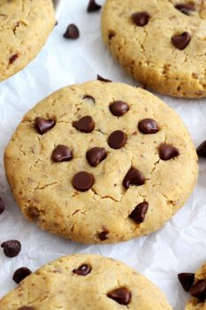 Chickpea Flour Breakfast Cookies