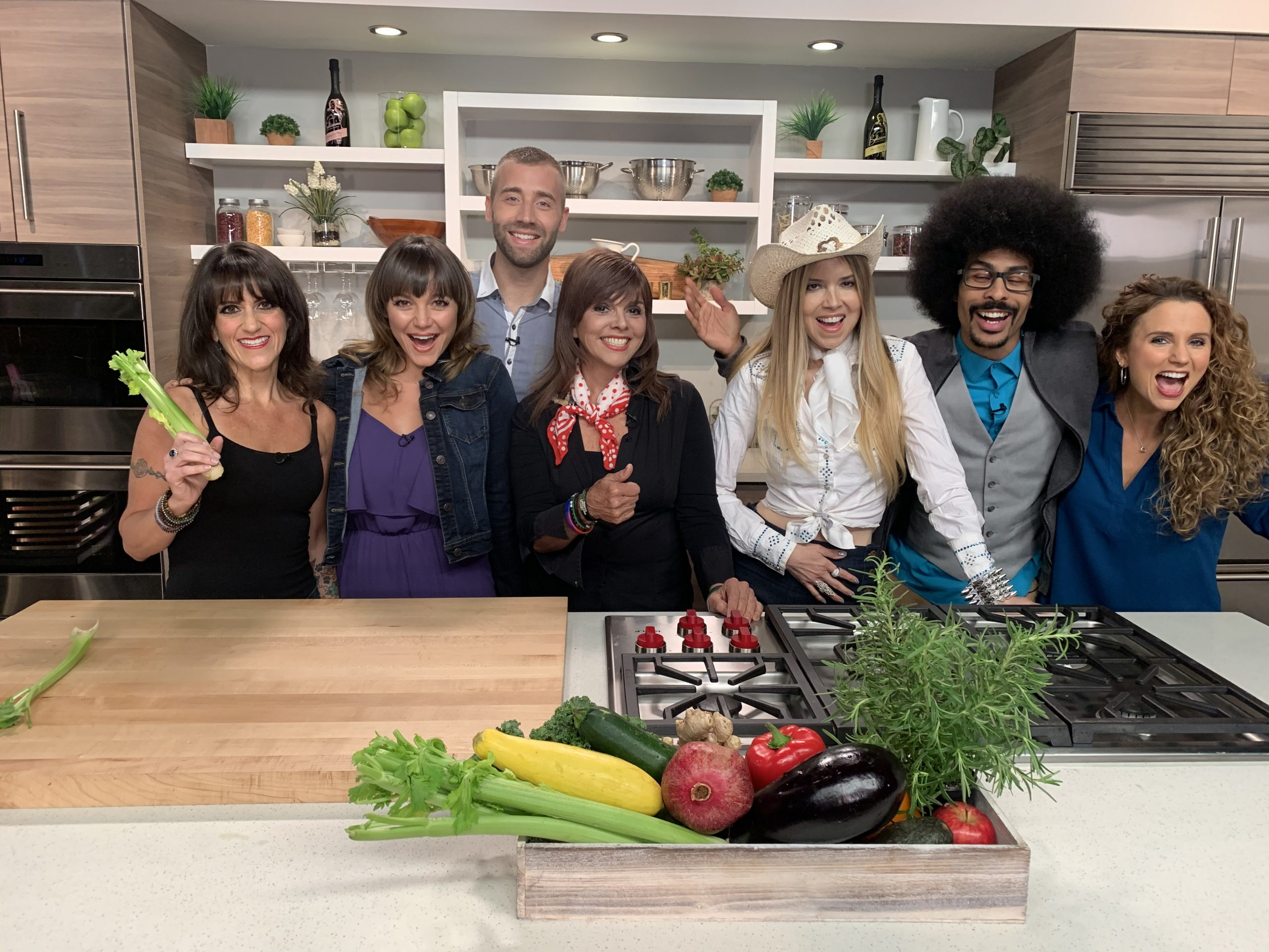 Vegan cooking show, New Day New Chef