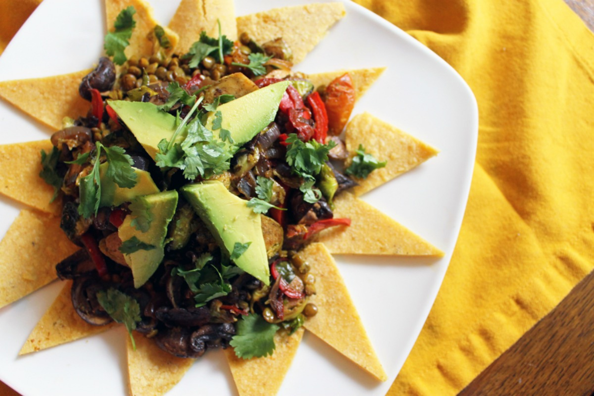 Super Star Lentil Taco Salad