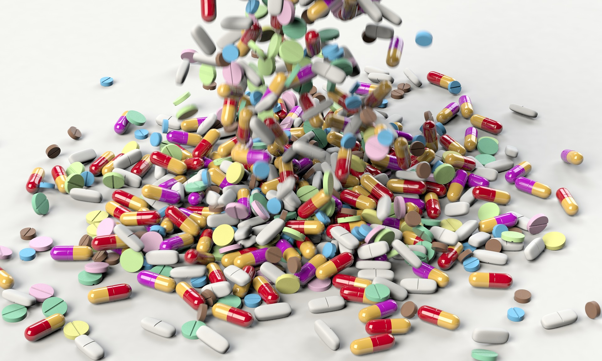 pharmaceuticals, vitamins, and supplements