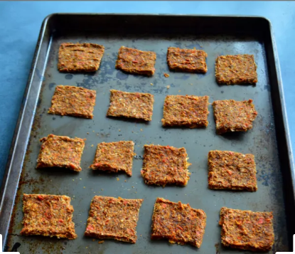 Veggie Flax Crackers