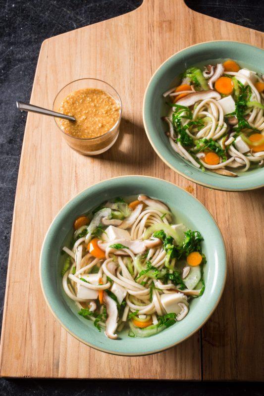 Vegan Vegetable Shabu-Shabu Bowl