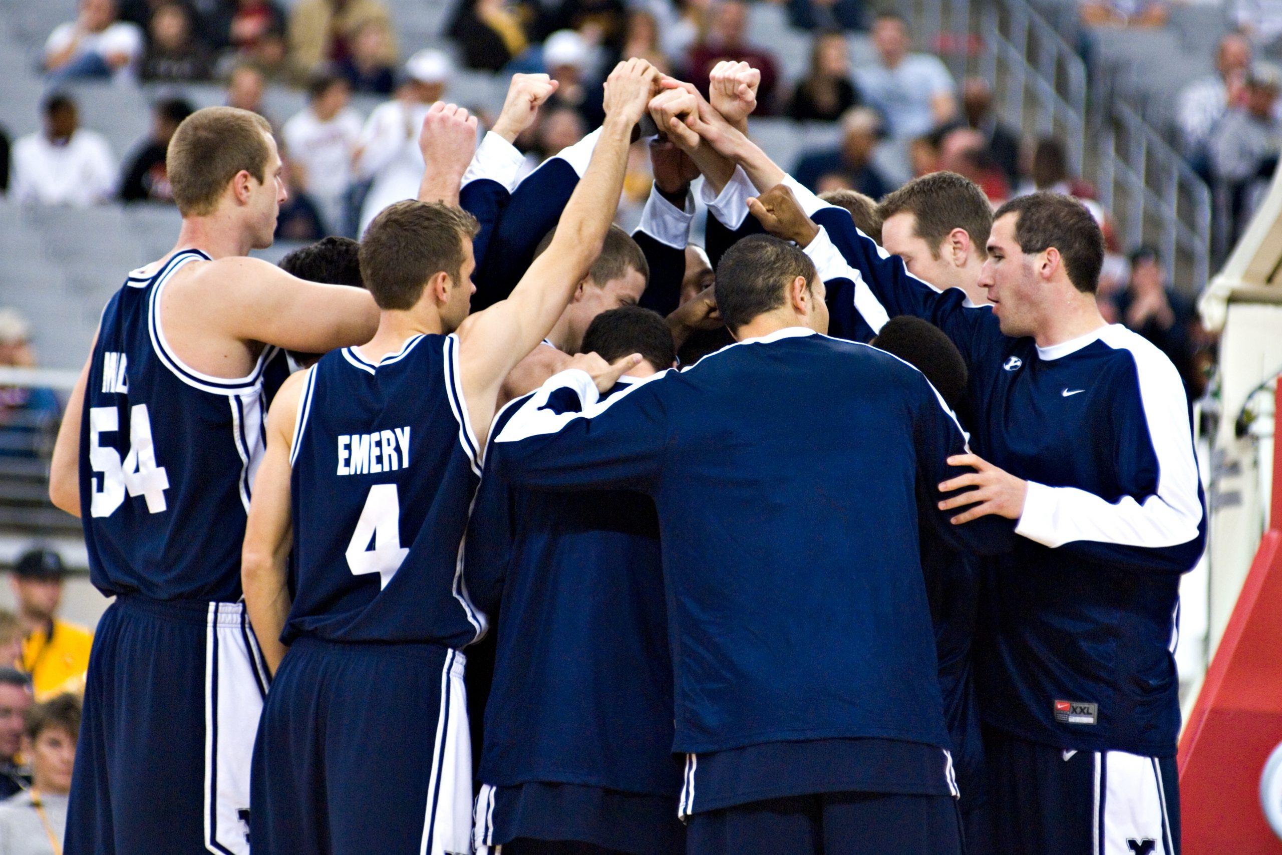 BYU Basketball Team