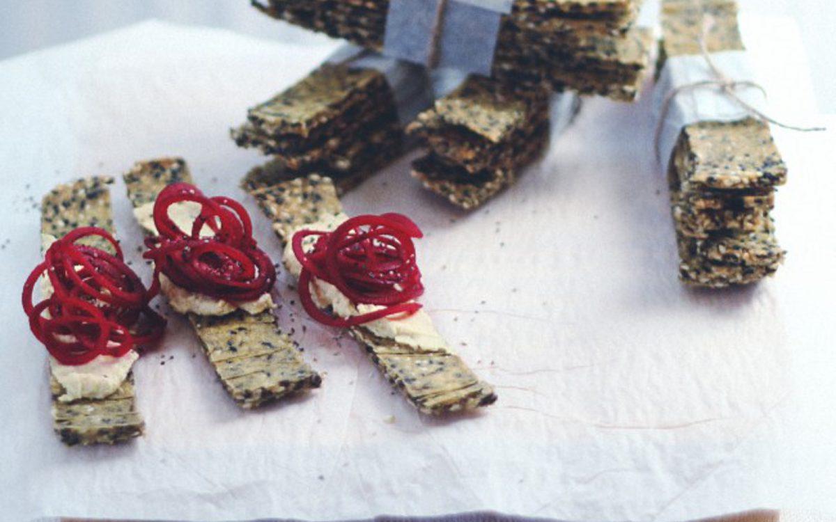 Swedish Sesame Crispbread