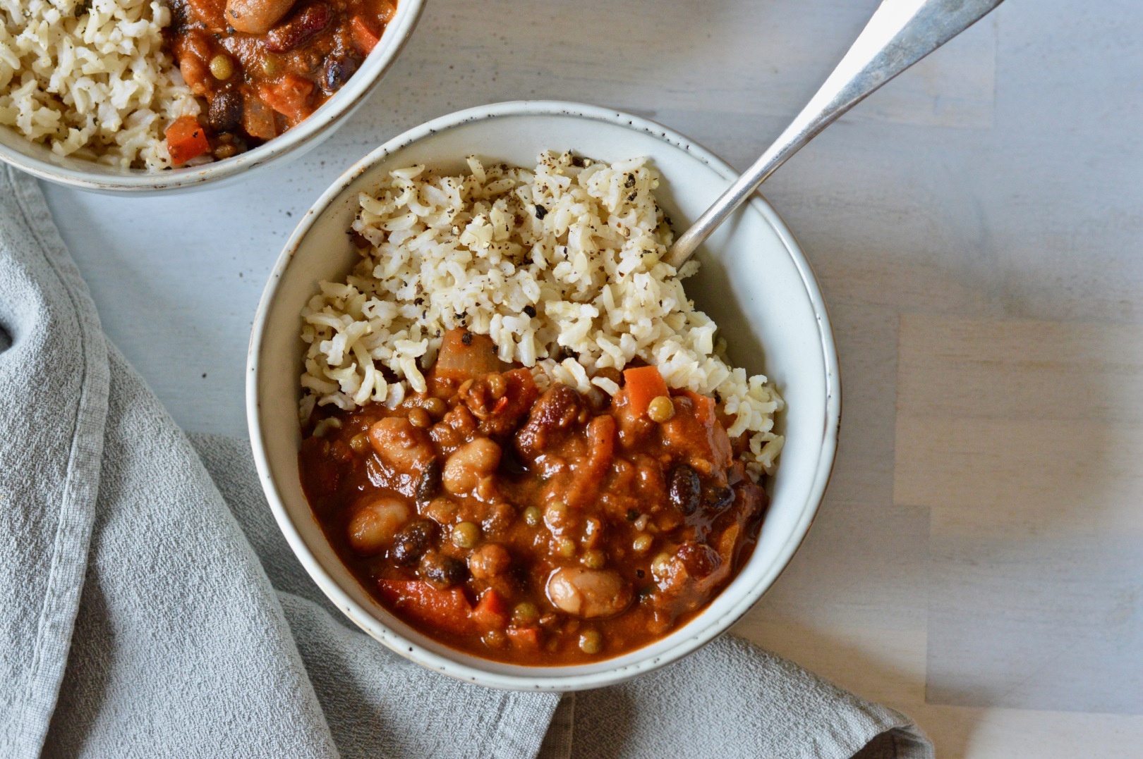 Bean and Tomato Chili