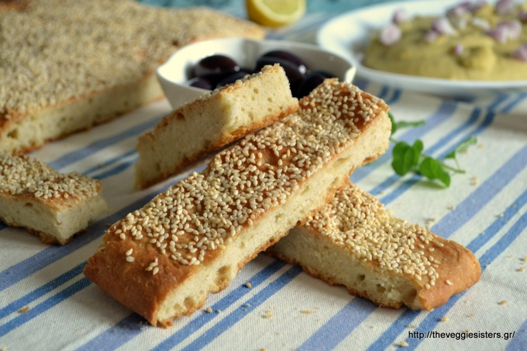easy sesame bread