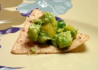 fruit, vegan, fruit guacamole, guacamole, vegan dish, side dish, appetizer