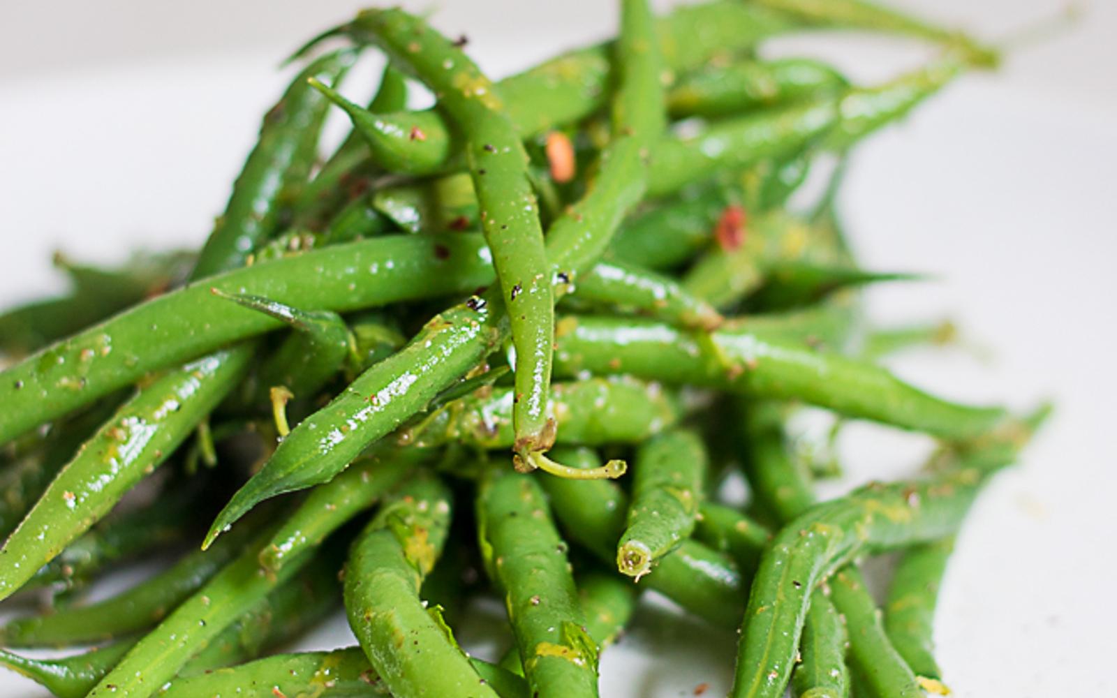 Szechuan Citrus Green Beans