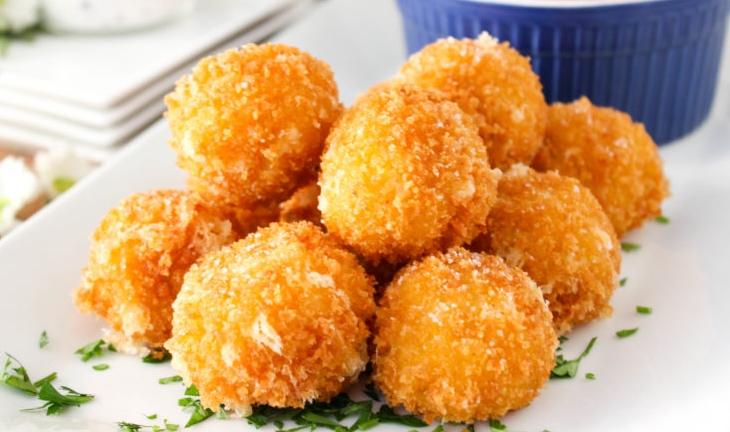 Arancini: Fried Risotto Balls