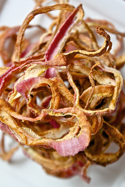 Oven-Dried Crispy Onions