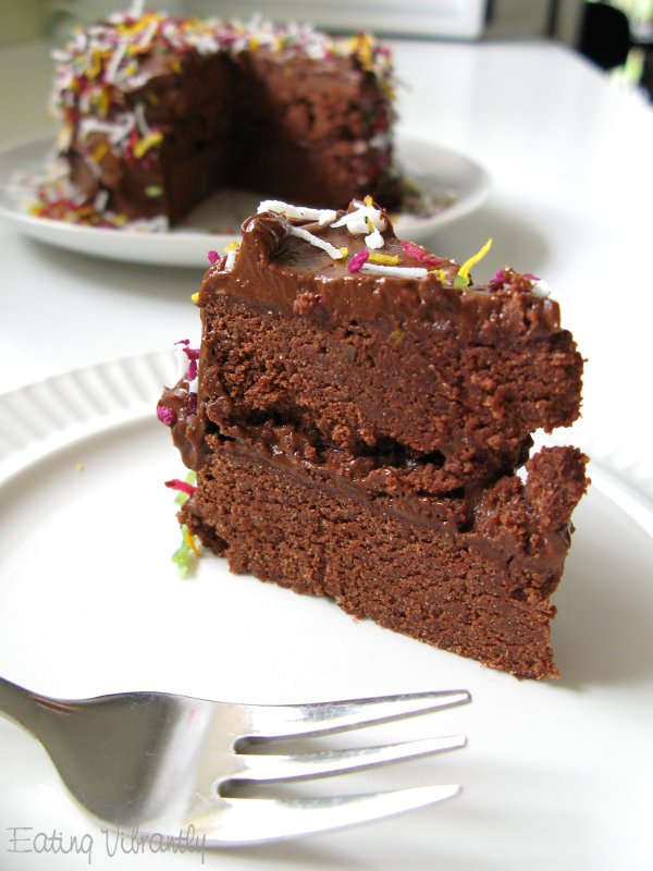 Astounding Raw Chocolate Cake Vegan One Green Planetone Green Planet Funny Birthday Cards Online Overcheapnameinfo