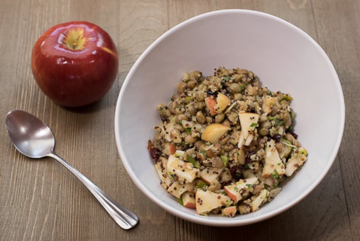 Vegan Apple Quinoa Salad
