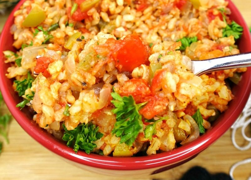 Vegan Simple Mexican Rice