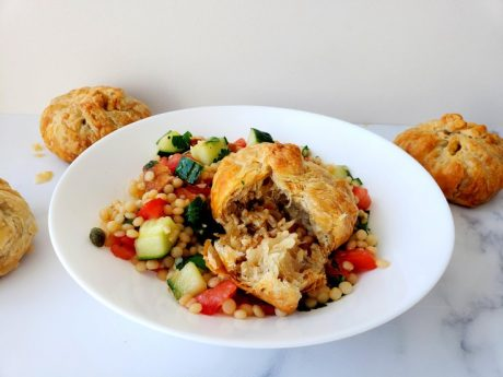 Turkish Rice Pilaf-Stuffed Hand Pies