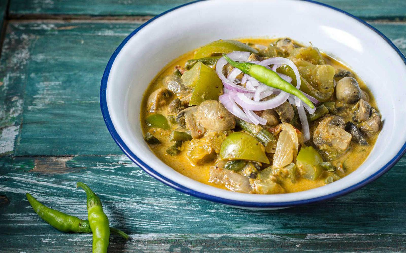 Tandoori Masala Mushroom Curry