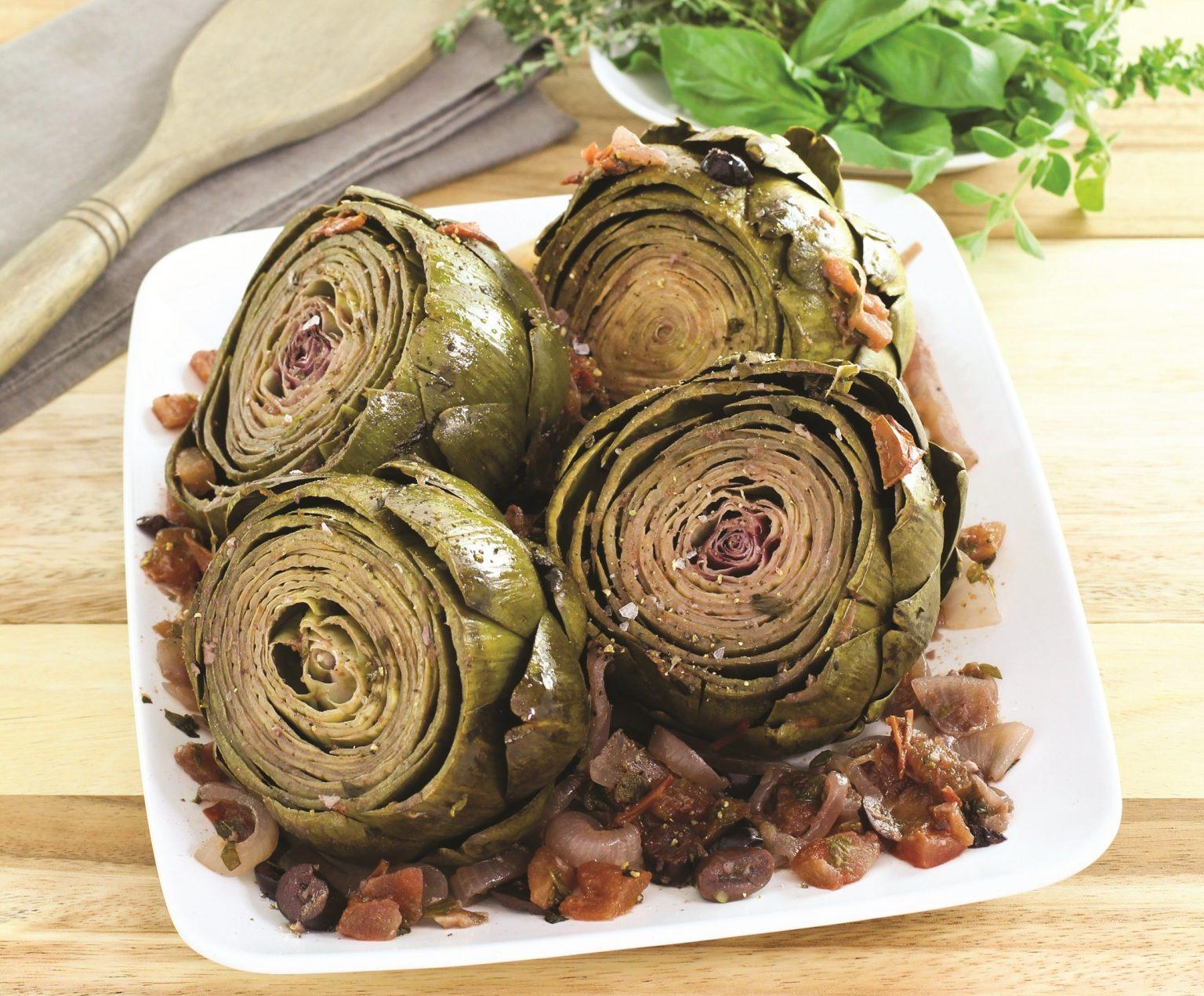 Vegan Artichokes Provençal