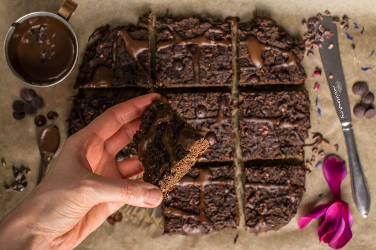 Vegan Lentil Brownies