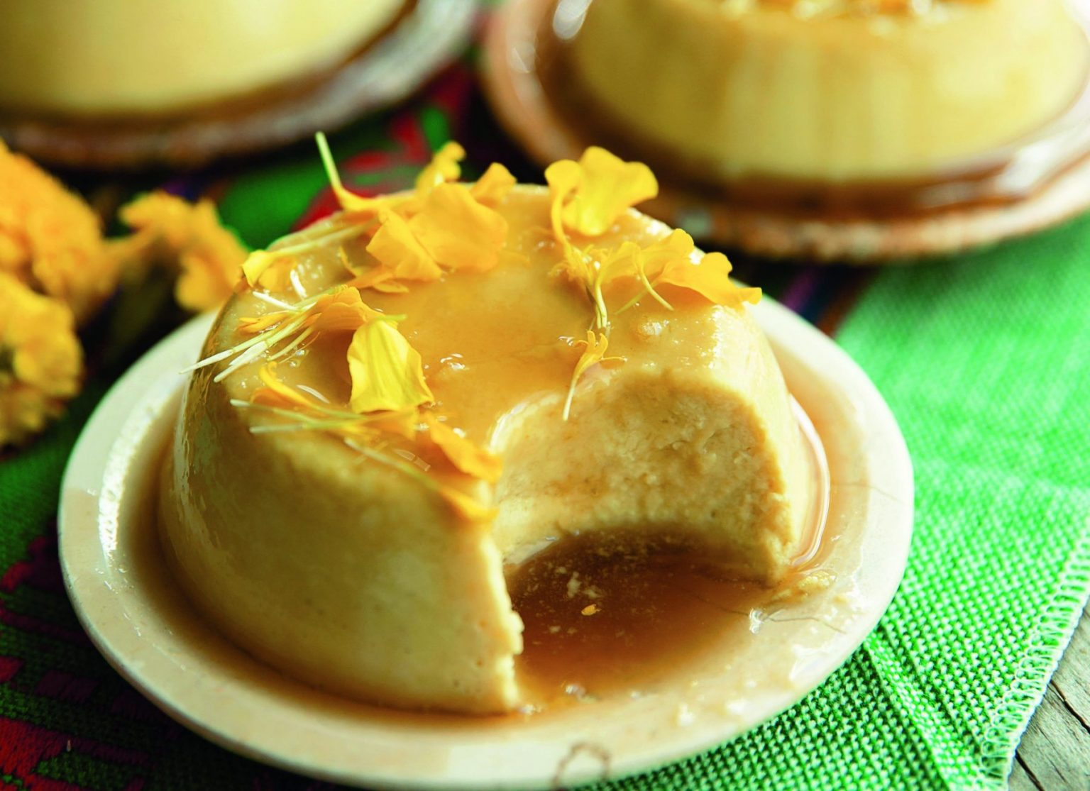 Vegan Coconut Flan viral recipes