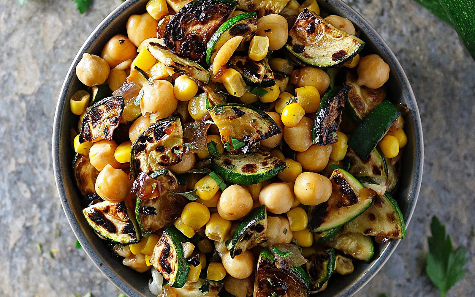 5-Ingredient Charred Zucchini Salad
