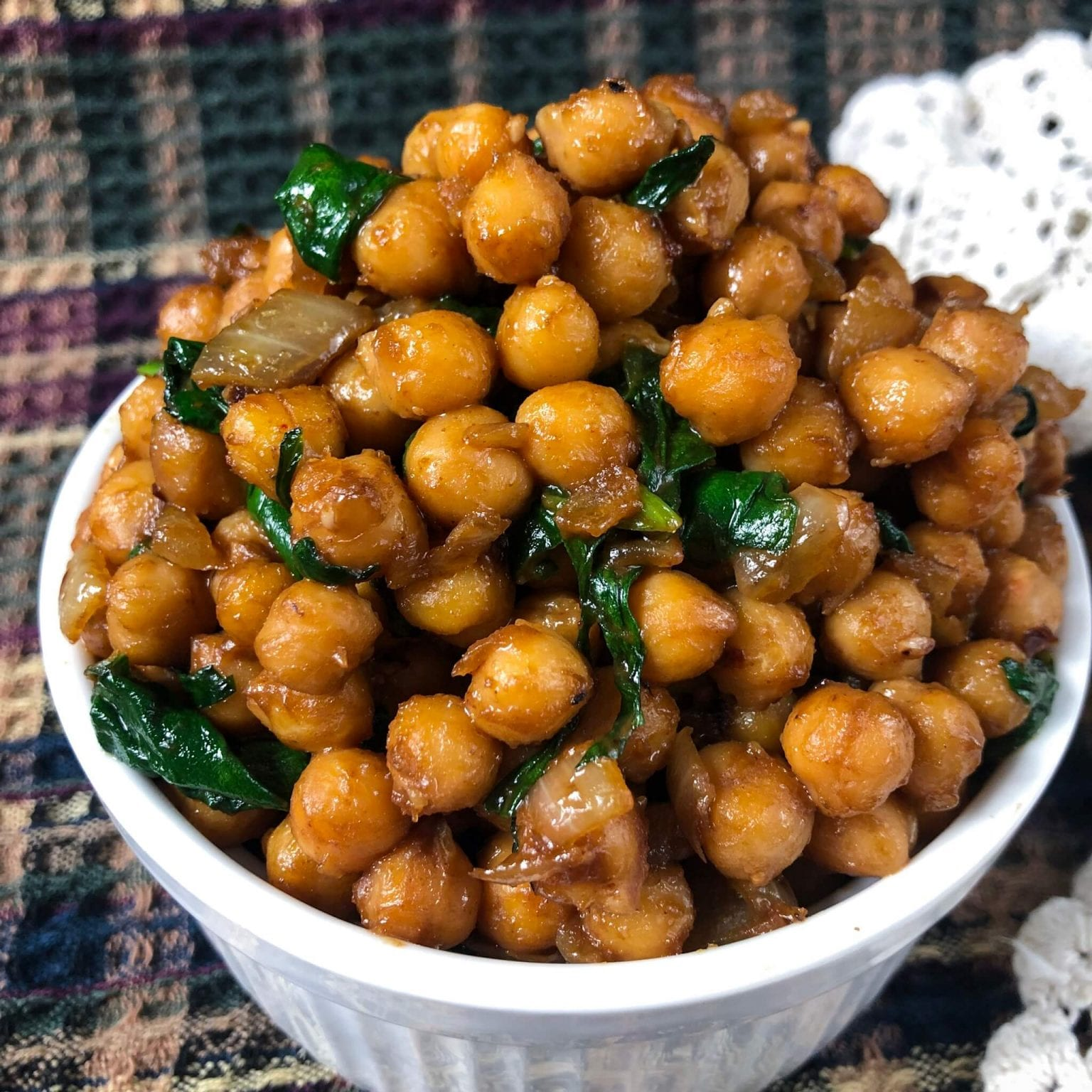 Pois Chiches Vegan Aux Arachides
