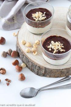 Hazelnut Mousse With Chocolate Ganache