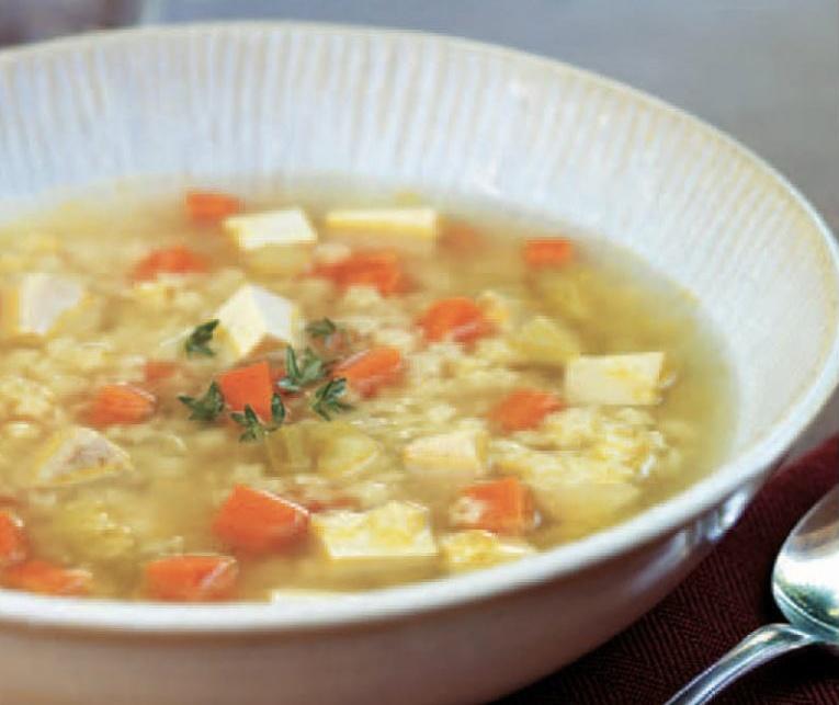 Smoked Tofu and Stars Soup