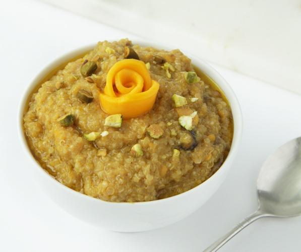 Vegan Quinoa Mango Kheer