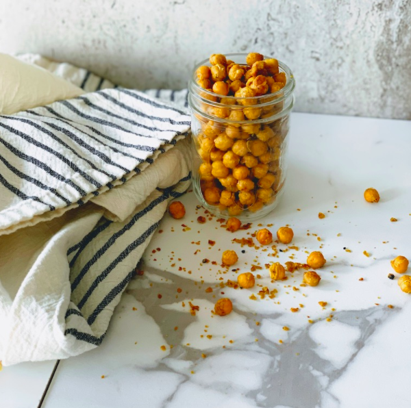 chickpea croutons