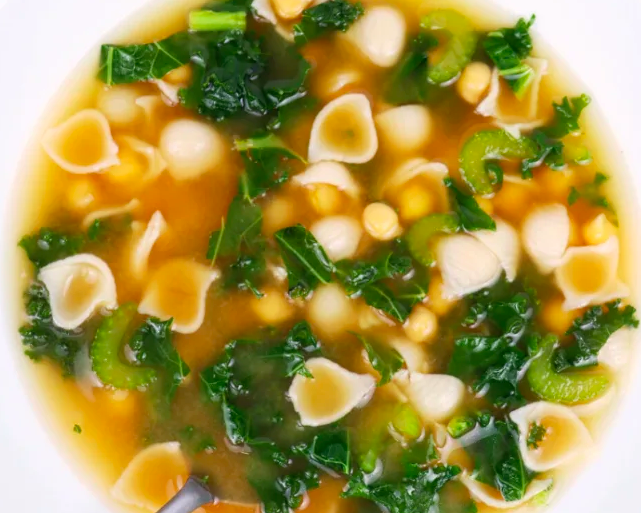 Chickpea Miso Soup