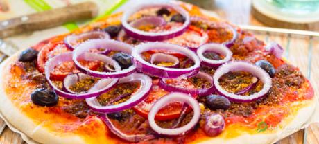 Pizza Pesto Rosso
