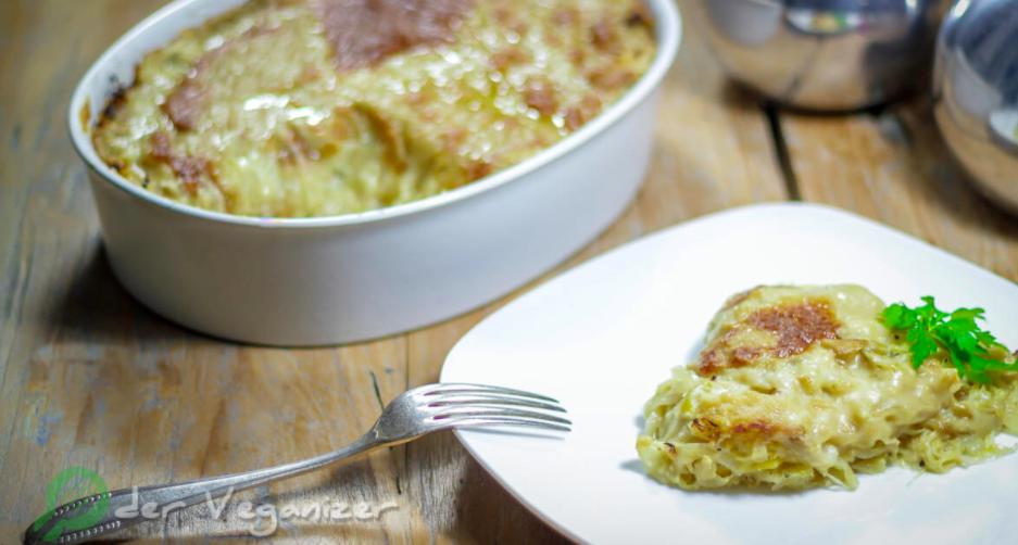 Sauerkraut Lasagna