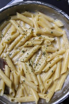 Garlic and Herb Cream Sauce
