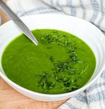 spinach potato soup