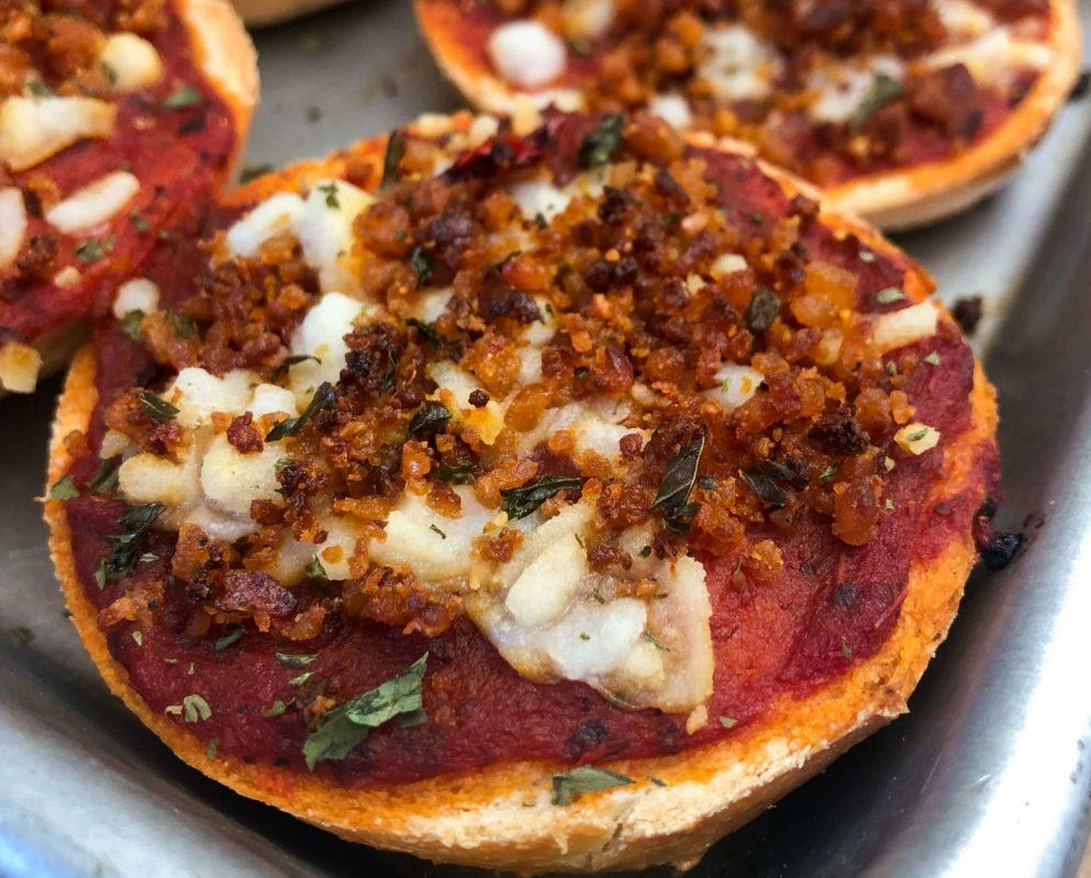 Vegan Bagel Bites