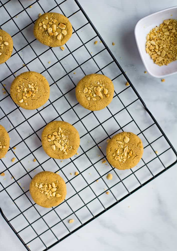 Chickpea Peanut Butter Cookies