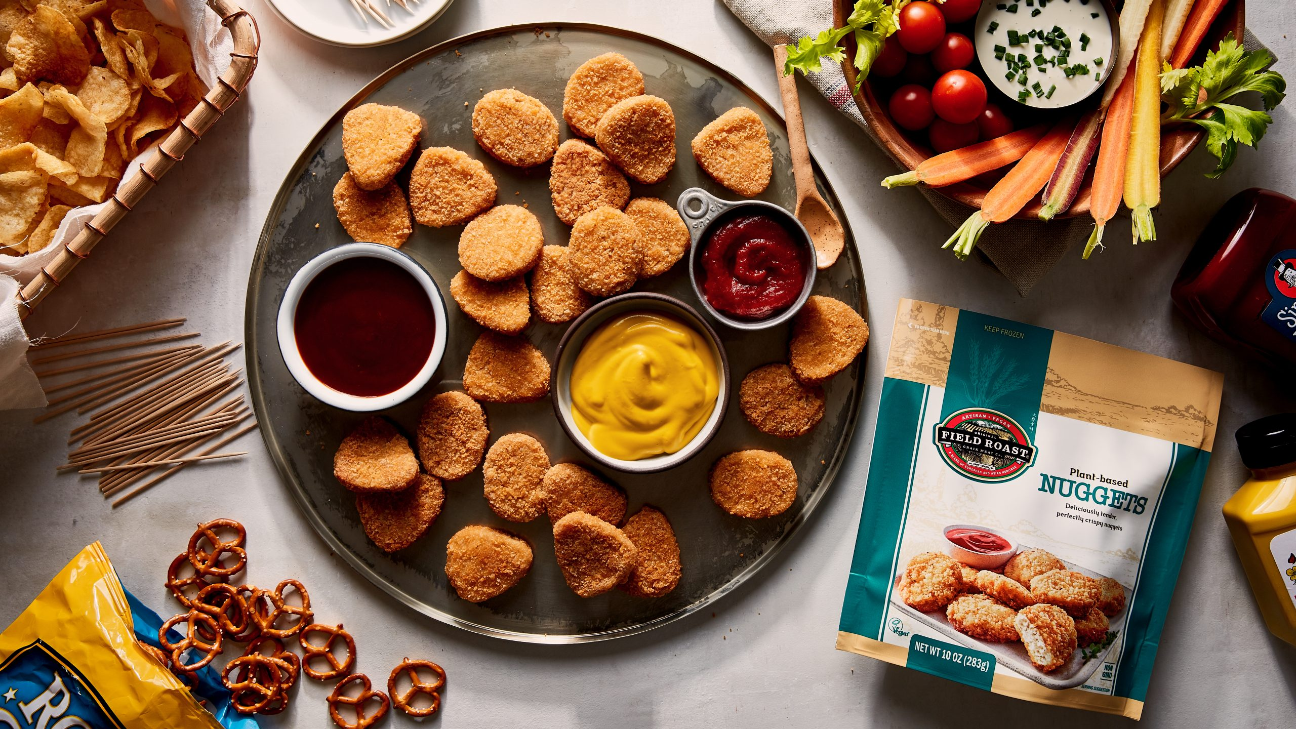 Field Roast plant-based nuggets