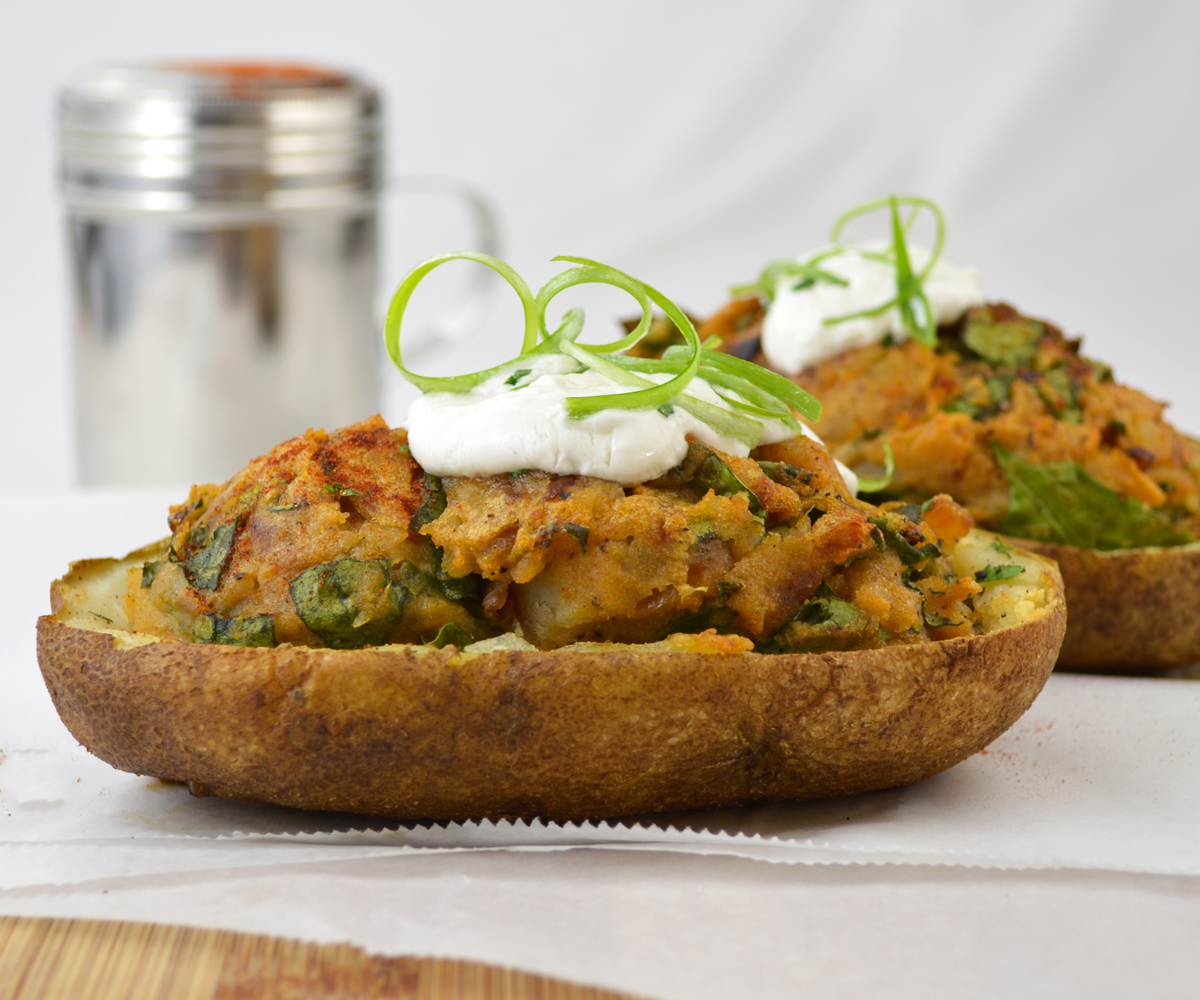 Hungarian Twice-Baked Potatoes