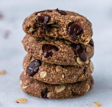 Tahini Chocolate cookies