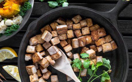 The Perfect Smoky Oil-Free Tofu