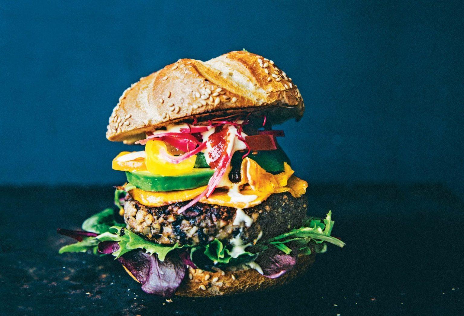 Vegan The Truffled Burger Queen