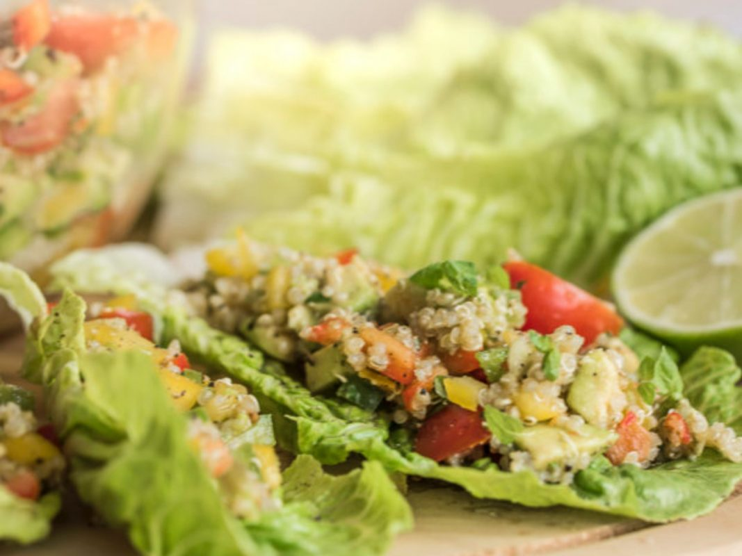 15 Hearty Meatless Lettuce and Collard Wraps!