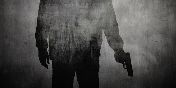 SHADow of man with gun