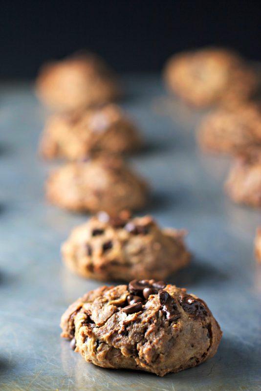 Chocolate Chickpea Cookies