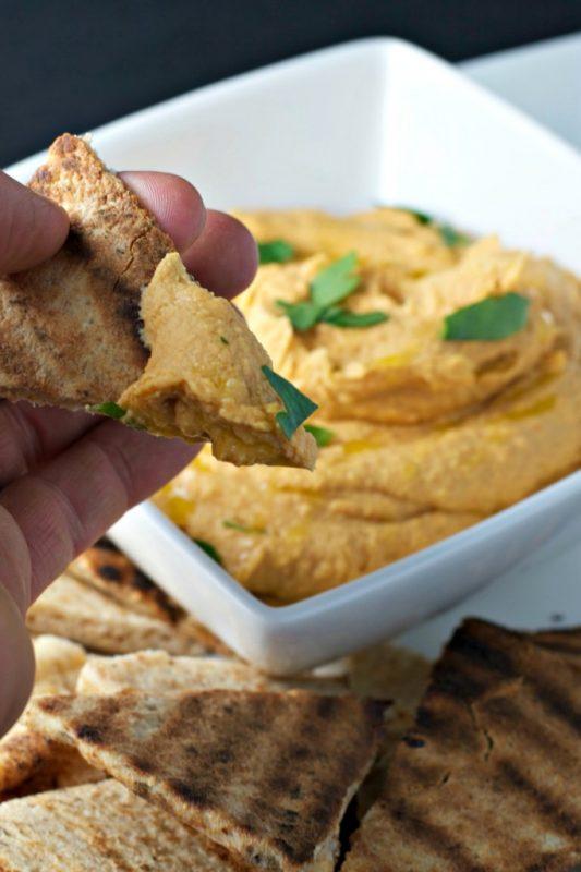 Vegan Smokey Chipotle Hummus